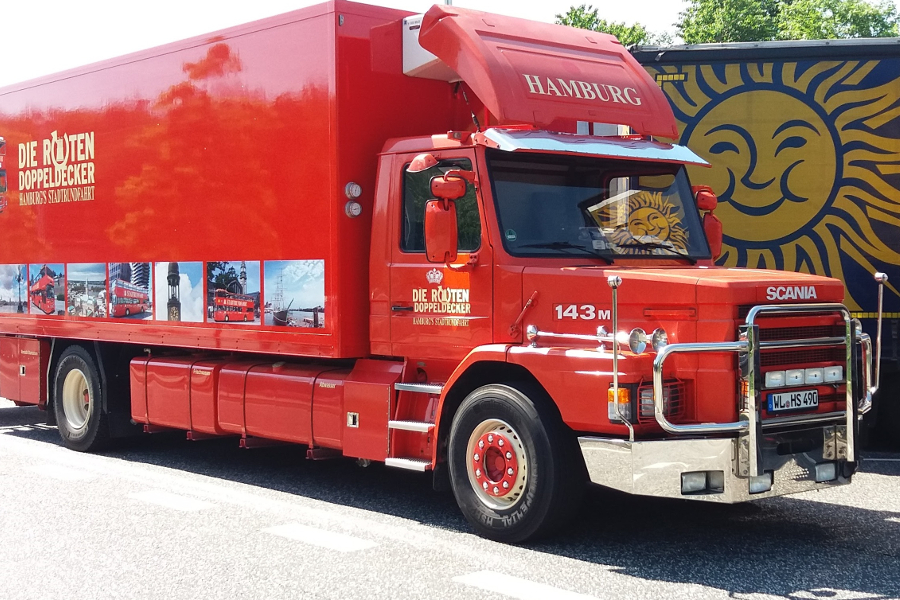 Refrigerated Scania